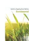 Waters Environmental Applications Notebook