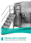 Model CISA P-MWT CONCEPT 150 & 300 - Medical Waste Treatment Sterilizer System Brochure