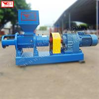 WEIJIN - Model LP500 - Lower manpower and automatical rubber offcut helix crushing machine