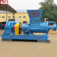 WEIJIN - Model LF400 - Tyre reclaimed rubber helix crushing machine