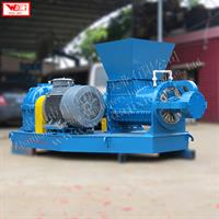 WEIJIN - Model LF250 - Reclaimed rubber waste tyre recycling machine / helix crushing machine