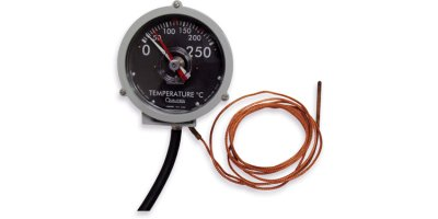 Qualitrol - Model 105  - Capillary Based Oil Thermometer