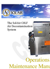 Sol-Air - C8LF - Air Decontamination System - Manual