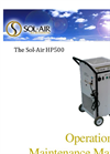 Sol-Air - HP1500H - Air Decontamination System - Manual