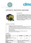 APPION - Model G1 - Recovery Machine Brochure