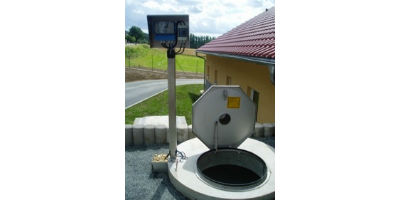 Open channel flow measurement for wastewater treatment plants