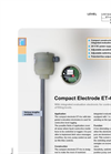 Model ET4 - Compact Electrode for Conductive Level Detection Brochure