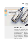 NivuBar - Model Plus II - Hydrostatic Level Probe Brochure