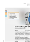 Model ER-104/B - Electrode Relay Used for Conductive Limit Level Detection Brochure