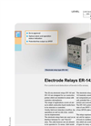 ER-142 / ER-143 - Electrode Relay for Control and Detection Brochure