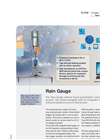 NIVUS - Rain Gauge for Detection of Precipitation Volumes Brochure