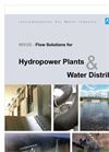 Hydropower Plants & Water Distribution- Brochure