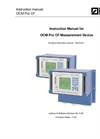 OCM Pro CF Measurement Device Manual