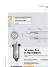 Manual Extraction Tool for Pipe Sensors Datasheet