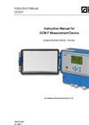 NIVUS - Model OCM F - Doppler Transmitter Manual