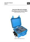 Model PCM 4 - Portable and High Accurate Flow Measurement Transmitter Manual