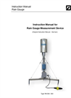 Rain Gauge Measurement Unit Manual