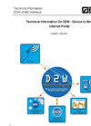 D2W - Device to Web Internet Portal Technical Datasheet