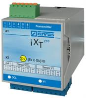 NIVUS - Model iXT - Ex Separator Interface for Ex-Safe Connection of Correlation Sensors