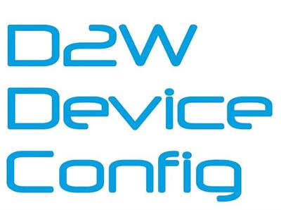 DeviceConfig - Version D2W - Software Tool for Configuration of External SIM-Modules