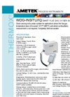 WDG-INSITU Probe Flue Gas Oxygen Analyzer - Datasheet