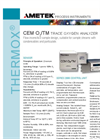 CEM O2/TM Trace Oxygen Analyzer Product Data Sheet
