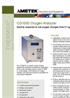 CG1000 - Oxygen Analyzer Product Data Sheet