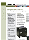 CG1100 - Oxygen Analyzer Product Data Sheet