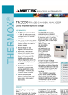 TM2000 Trace Oxygen Analyzer Product Data Sheet