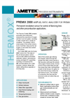 THERMOX PreMix 2000 - Analyzer - Datasheet