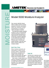 5000 Process Moisture Analyzer Datasheet
