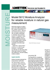 Model 5812 Moisture Analyzer Brochure