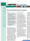 Model 5830 Moisture Analyzer Brochure