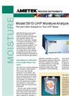 Model 5910UHP Moisture Analyzer - Datasheet