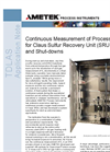 Continuous Measurement of Process Oxygen for Claus SRU Start Ups and Shut Downs - Application Note