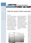 Model 5100 HD Verification/Validation - Technical Notes