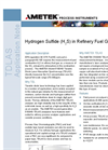 Hydrogen Sulfide (H2S) in Refinery Fuel Gas - Application Notes