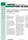 Argon and Nitrogen in Glove Boxes and Blanketed Chambers - Application Notes