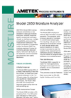 Model 2850 Moisture Analyzer - Data Sheet