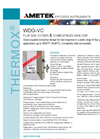 THERMOX WDG-VC Combustion Analyzer Datasheet