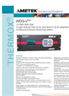 THERMOX WDG-VRM Rack Mount Combustion Analyzer Datasheet