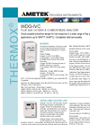 THERMOX Model WDG-IVC Flue Gas Oxygen Analyzer Datasheet