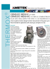 THERMOX Model WDG-IV Cenelec Flue Gas Oxygen Analyzer Datasheet