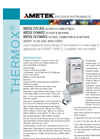 THERMOX Model WDG-IVC, IVM, IVCM (IQ Series) Flue Gas Oxygen Analyzer Datasheet