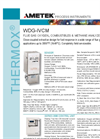 THERMOX Model WDG-IVCM 3 in 1 Flue Gas Oxygen Analyzer Datasheet
