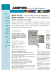 THERMOX Model WDG-IVCM IQ (500 ppm range) Flue Gas Oxygen Analyzer Datasheet