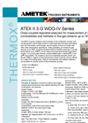 THERMOX Model WDG-IV ATEX Flue Gas Oxygen Analyzer Datasheet