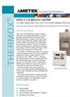 THERMOX Model WDG-IV UOP RP ATEX version Oxygen Analyzer For UOP CCR Platforming Process Datasheet