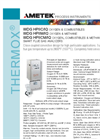 THERMOX Model WDG-HPIIC HPIIM HPIICM Flue Gas Oxygen Analyzer Datasheet