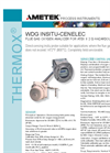 THERMOX Model WDG Insitu Cenelec Flue Smart Flue Gas Oxygen Analyzer Datasheet